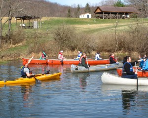 Girl Scouts Canoeing Experience